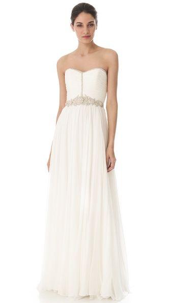 Reem Acra I'm Ready Gown