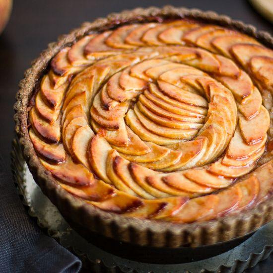 "Apple Quince Pie with Gluten Free Buckwheat Crust ~ via this blog, ""The Bojon Gourmet""."