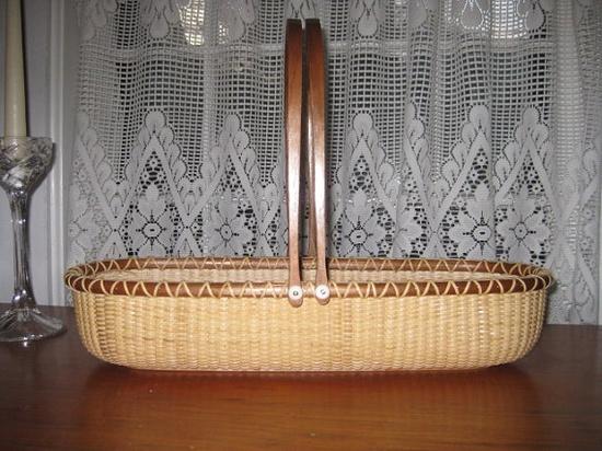 Nantucket French Bread Basket by Patti Baker (Old Nantucket Baskets)