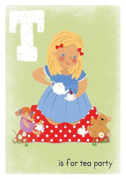 T is for Tea Party
