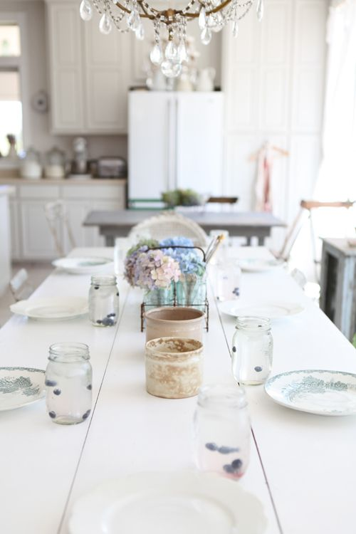 dining# kitchen# table setting# white#