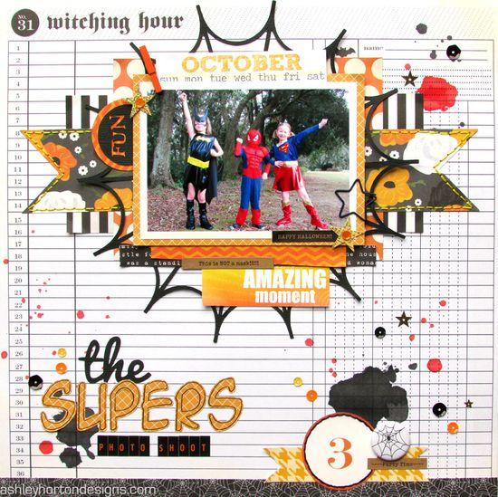 The Supers - Scrapbook.com