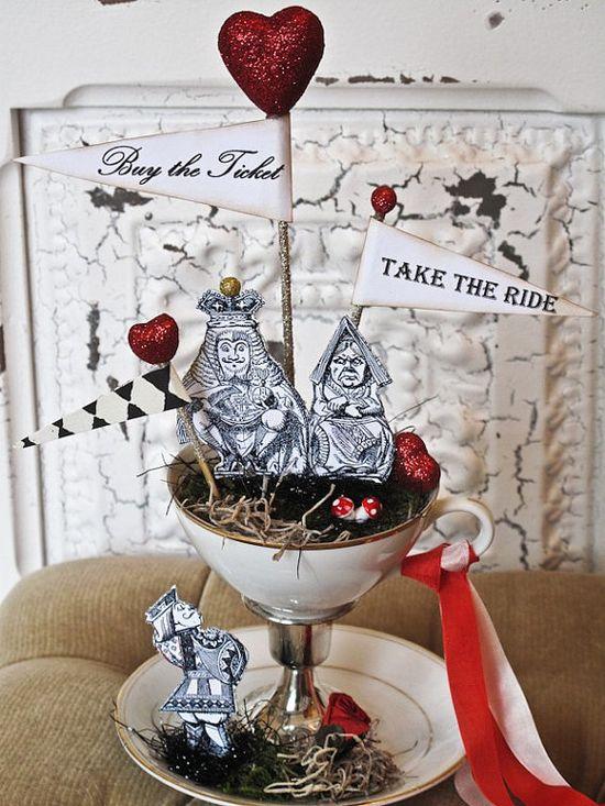 Alice In Wonderland Weddings