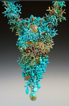 Вдохновение кусок Мэри Darwall «Бирюзовая Богиня Kachina риф.