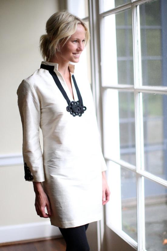 Charlotte Tunic Dress by DevonBaerDesigns on Etsy, $235.00