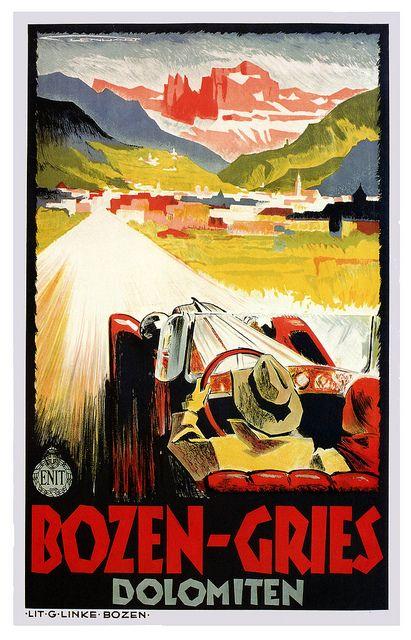 Vintage ad poster