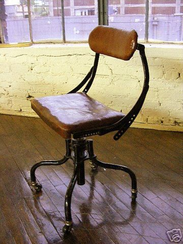 machine age industrial chair by Sandy-S