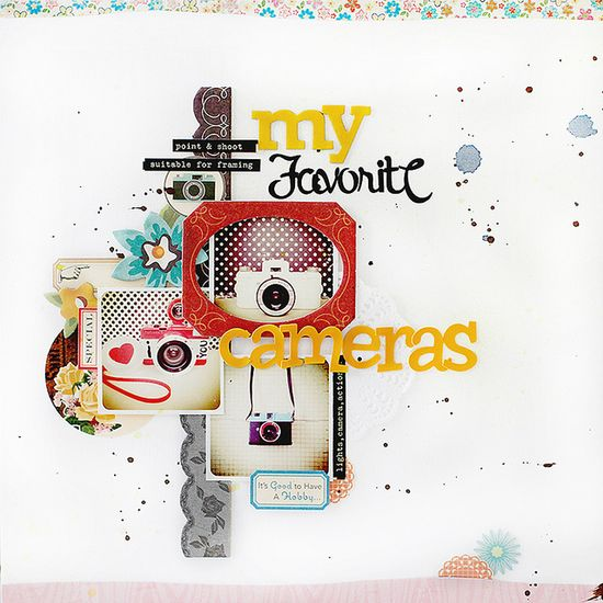 #papercraft #scrapbook #layout findingnana