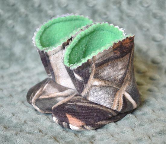 Max 4 Baby Boots. $14.00, via Etsy.