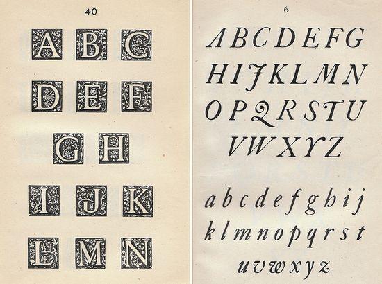 Ephemera Alphabet Book