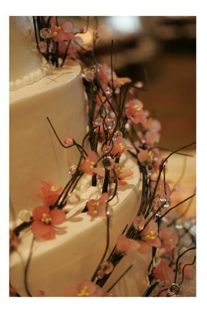 i'm not a fan of twigs or twig-looking things on cakes but this is really pretty.  maybe because they're smaller.