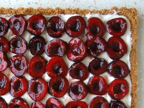 Fresh Cherry Tart.