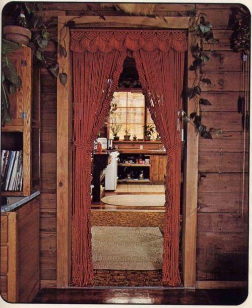 Curtain Door Ideas