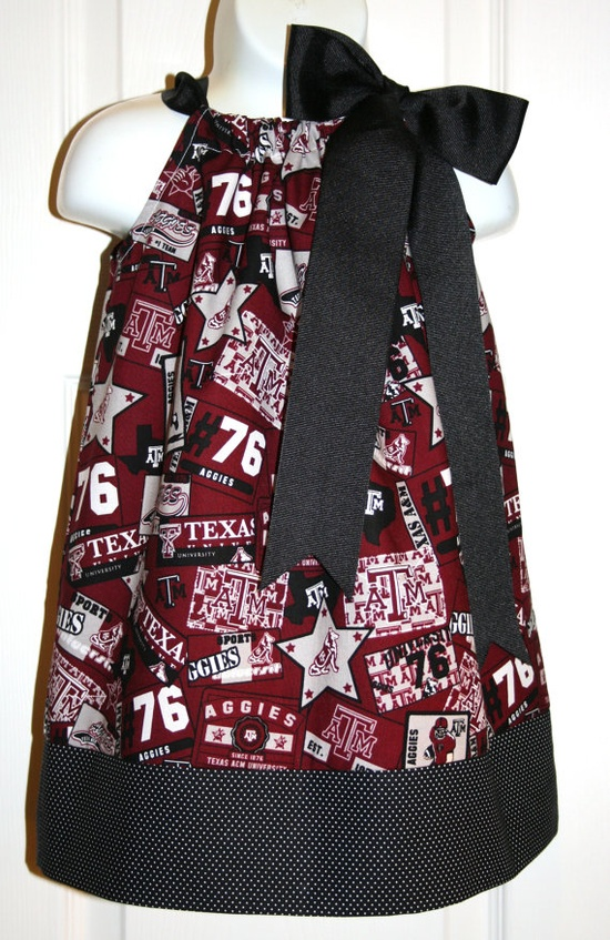 idea for game day dress, if it's a girl