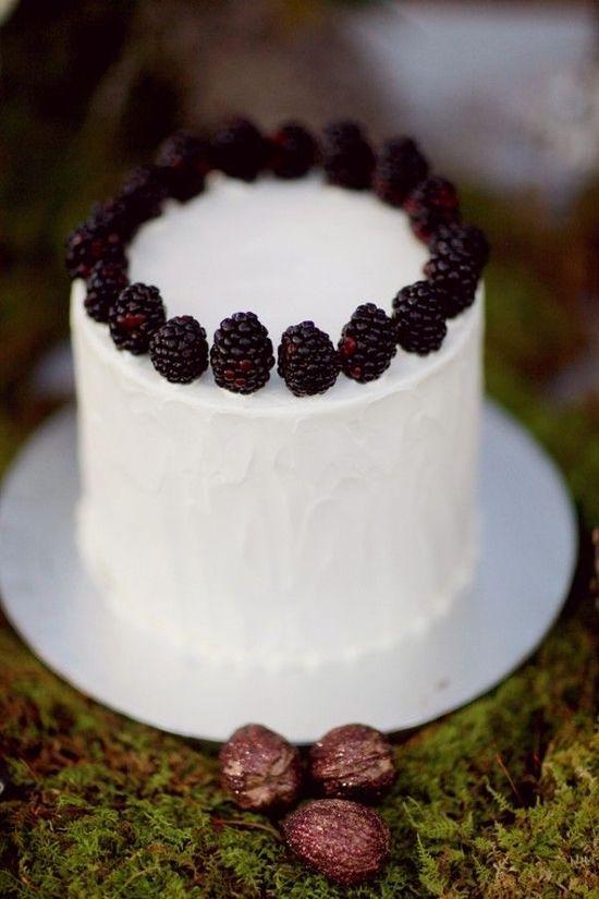 REVEL: Blackberry Wedding Cake