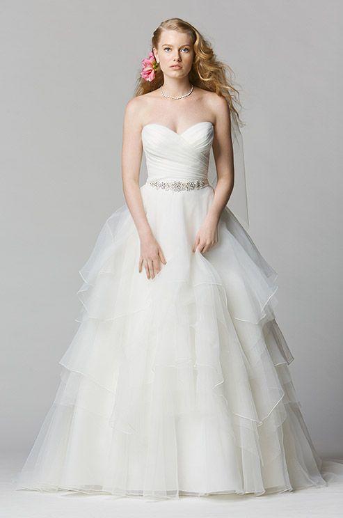 Sweet & romantic wedding dress. Wtoo, Spring 2014