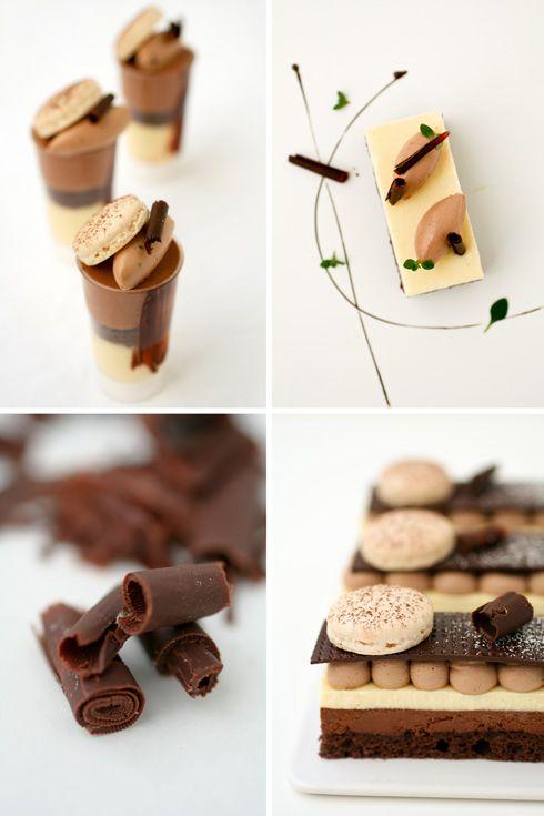 chocolate and meyer lemon desserts