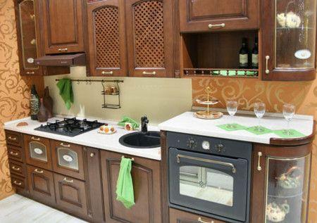 Luxury Small Kitchen  Interior Design Ideas - Kitchen