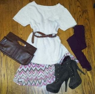 Midwest Girl. Big City Style. Styling tips to repurpose Summer clothing for Fall