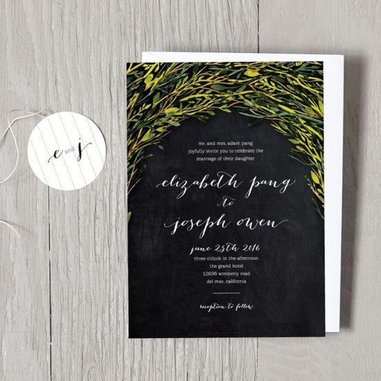 Whimsy Wedding Invitations