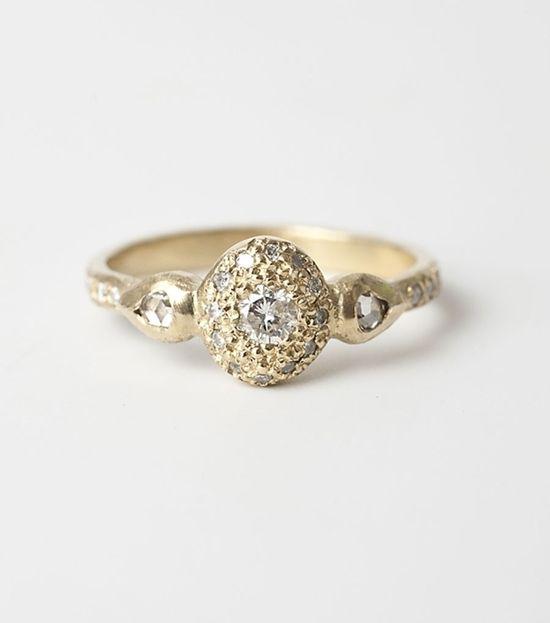 catbird::Ancienne Diamond Ring