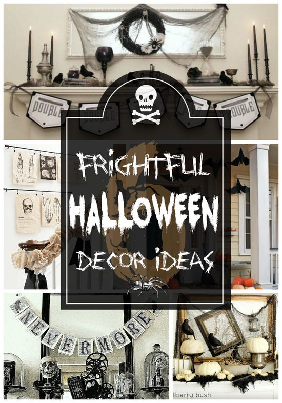 6 Frightful Halloween Decor Ideas