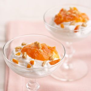 Apricot Yogurt Delight #myplate #dairy #fruit