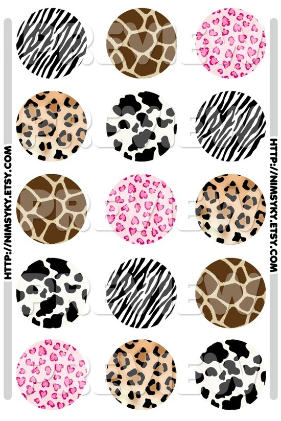Animal Prints to paint