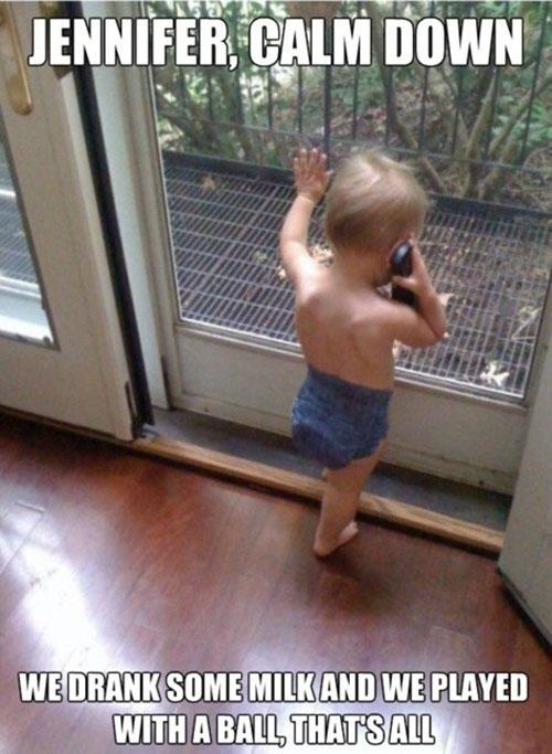 Funny pictures with babies / children