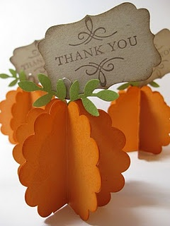 Thanksgiving Place Cards or Picture Holder