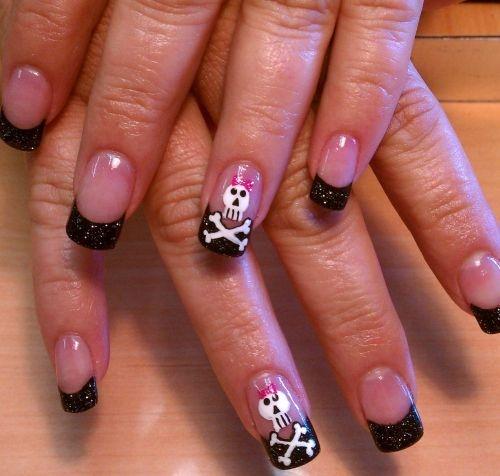 Rocker Chic Nail Art