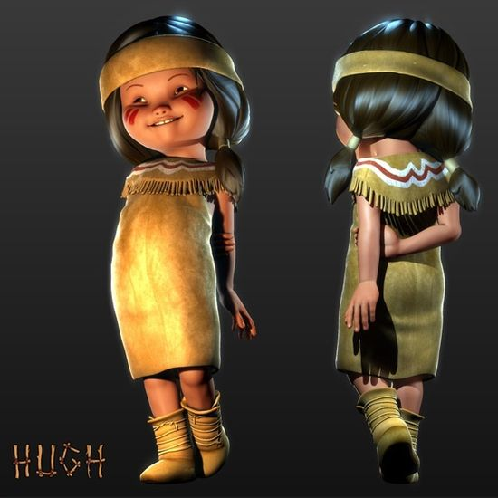 25 Amazing 3D Character Designs