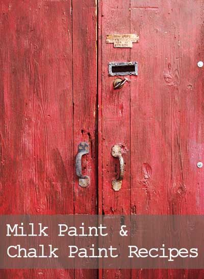 How to make your own furniture paint, chalk paint, milk paint
