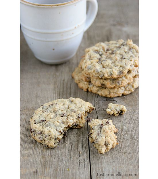 Chocolate Oatmeal Coconut Cookies