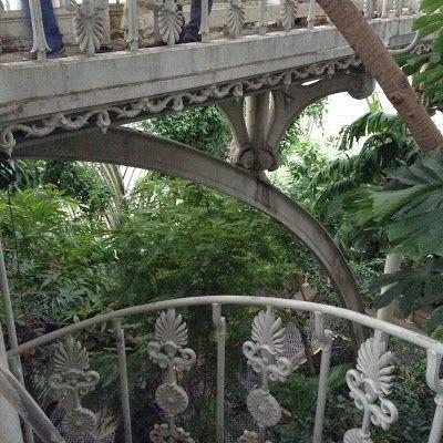Palm House at Kew Gardens - {Mercurelli's Garden Design Wordless Days: Autum at KEW Gardens!}