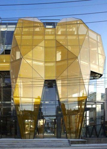 The Yellow Diamond / Jun Mitsui & Associates Architects + Unsangdong Architects