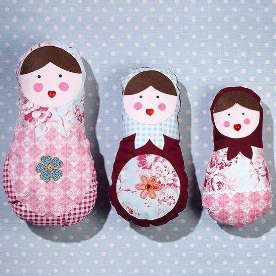Matreoshka dolls by Hobby Craft (www.hobbycraft.co.uk)