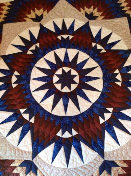 Amish Handmade Quilt via Etsy