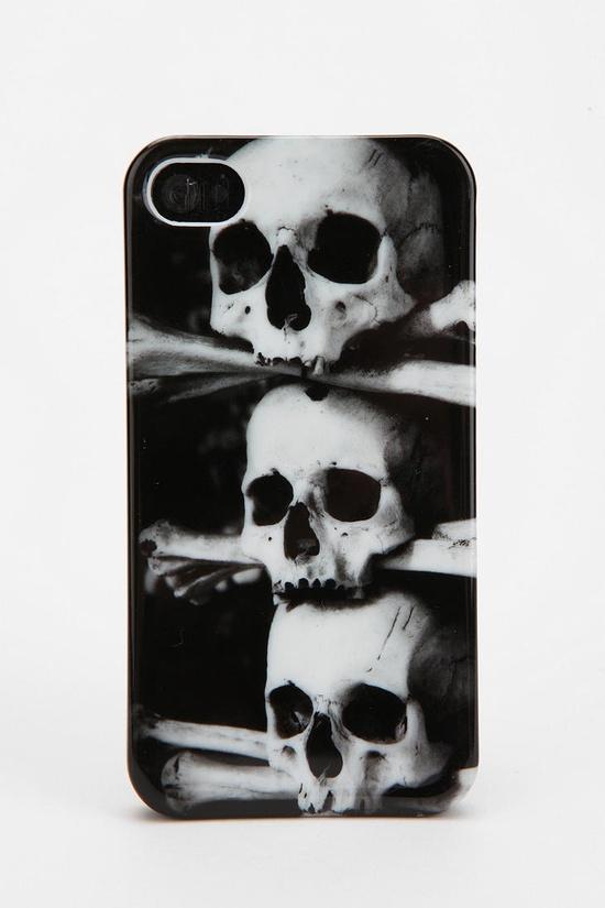 Fun Stuff Stacked Skull iPhone 4/4s Case