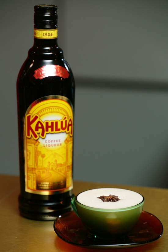 The Flat White Kahlúa - Chivas Regal –  Pedro Ximenez Sherry – Citric Acid Short, sharp, sour, with rich raisin.  Gentleman's cooler. 2 Units