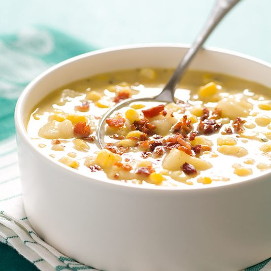 Quick Corn Chowder with Bacon Recipe - Cook's Country