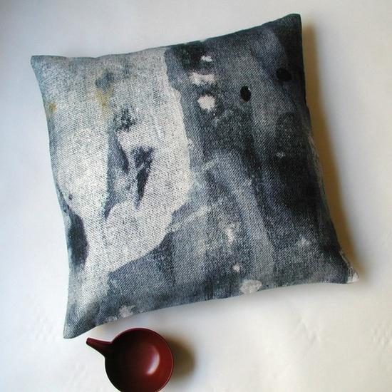 Night Rain Pillow $123