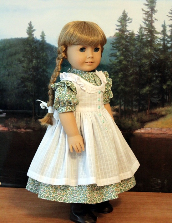 Dress and Pinafore for Kirsten. $65.00, via Etsy.