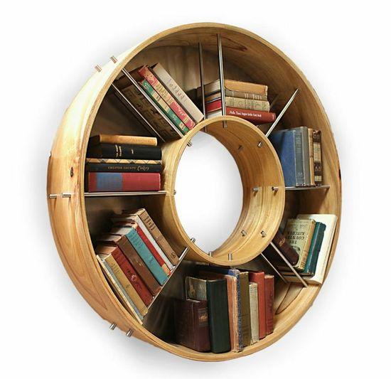 Holmes Design library piece for books. Great fresh design. www.modenus.com/...