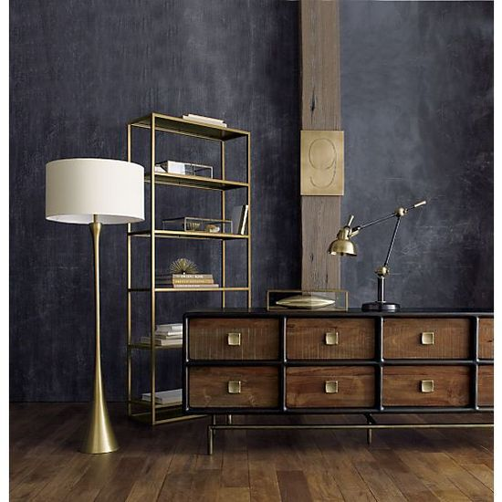 A return to golden glamour - gold interiors