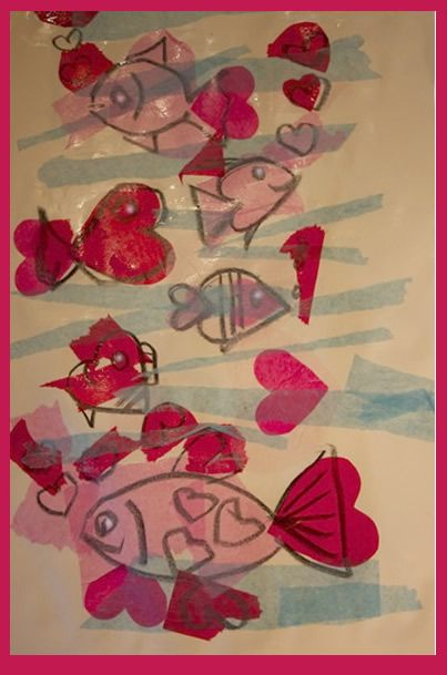 Valentines Day Art - Valentines Day art that let's you continue with the theme you are studying and integrate a Valentine unit is the way to go.  - Pinned by @PediaStaff – Please Visit  ht.ly/63sNt for all our pediatric therapy pins