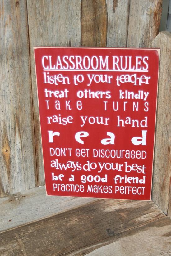 Classroom Decor Etsy ~ Classroom decor ideas rules perfect teacher