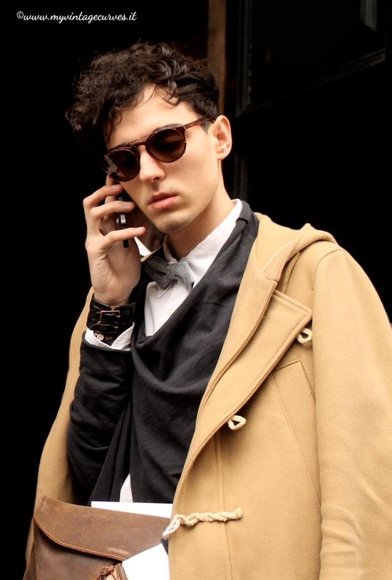 street style Milan fashion week men