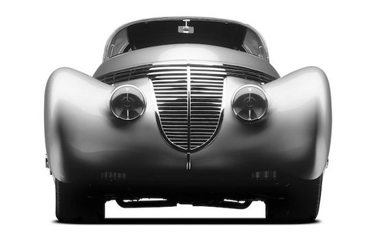 The Dubonnet 1938 Hispano-??Suiza// cars were moving works of art/ inspired by art-deco