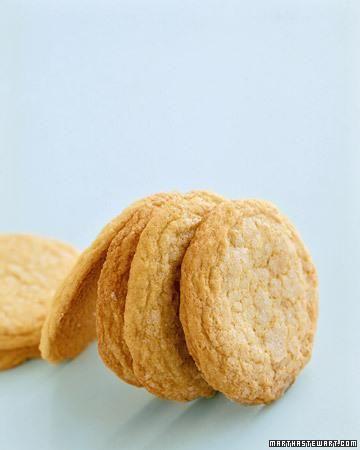 Martha's Favorite Old Fashioned Lemon Sugar Cookies